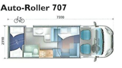 Auto-Roller 707 Floorplan