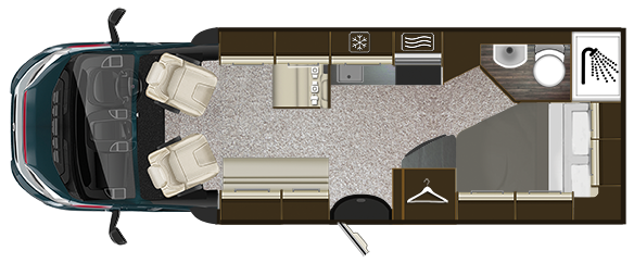 AutoTrail tribute T715 Floorplan