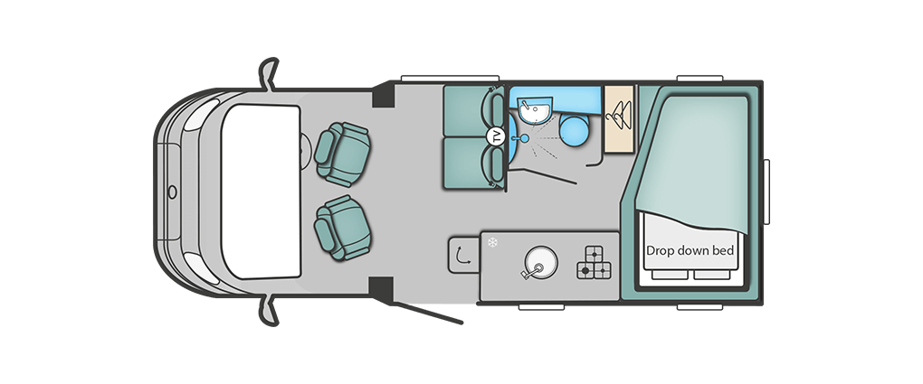 Swift C404 Floorplan