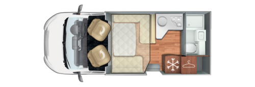 Roller Team T-line 590 Floorplan